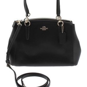Coach Christie Carryall Bag Crossgrain Leather